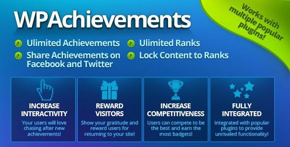 WPAchievements - WordPress Achievements Plugin        Nulled