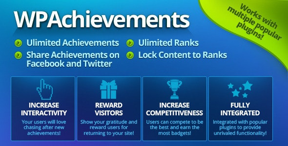 WPAchievements - WordPress Achievements Plugin - CodeCanyon Item for Sale