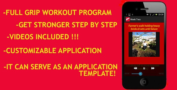 Grip Strengthening App - CodeCanyon Item for Sale
