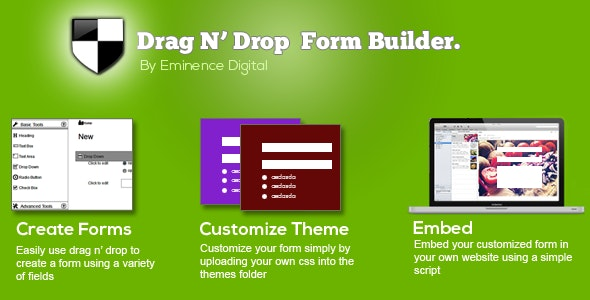 Drag N' Drop Form-builder - CodeCanyon Item for Sale
