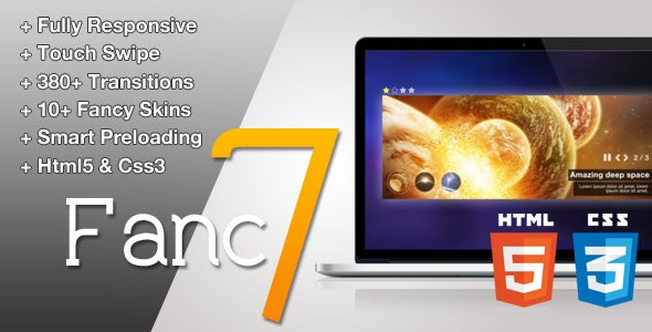 Fancy 7 - Touch Image Slider / LightBox - CodeCanyon Item for Sale