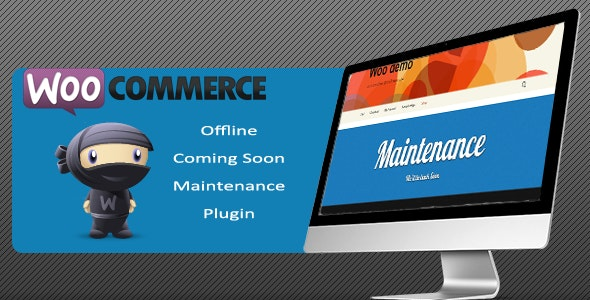 Woocommerce Offline/Coming Soon/Maintenance Plugin - CodeCanyon Item for Sale