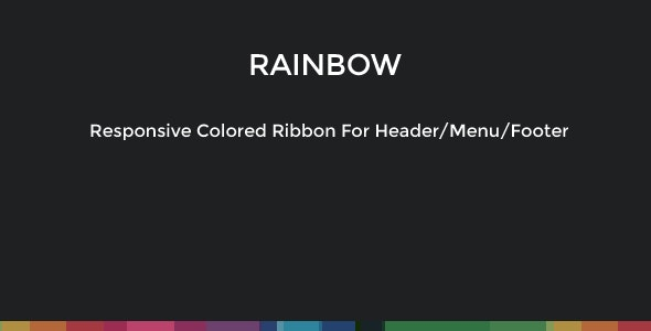 Responsive Colored Header/Footer Ribbon - CodeCanyon Item for Sale