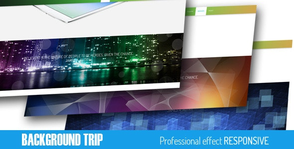 BACKGROUND TRIP - CodeCanyon Item for Sale
