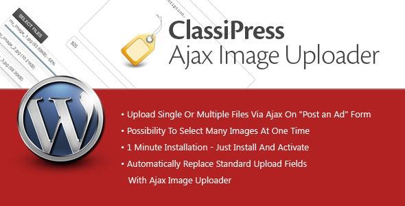 ClassiPress Ajax Image Uploader - CodeCanyon Item for Sale