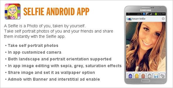 Selfie App - CodeCanyon Item for Sale