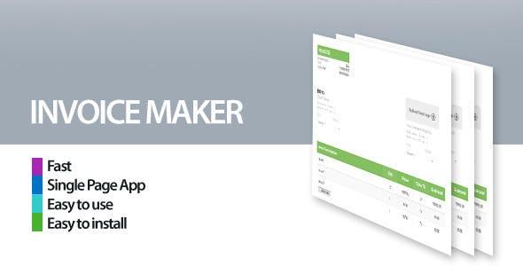 Invoice Maker/Creator