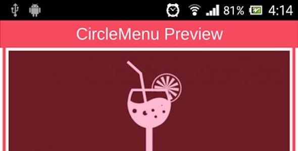 AS3 Circle Menu for Air, android and iOS