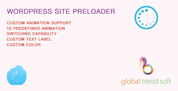 WordPress Site Preloader