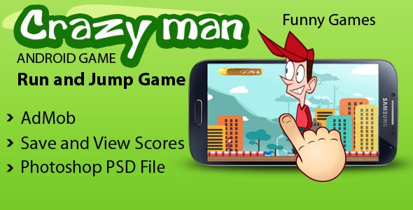 Crazy Man with AdMob - CodeCanyon Item for Sale