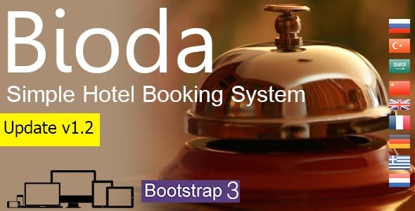 Bioda - Simple Hotel Booking System