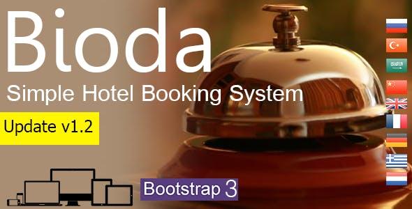 Bioda - Simple Hotel Booking System