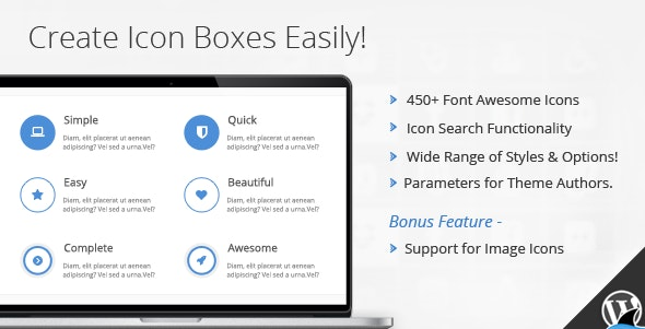 Icon Box for WPBakery Page Builder by BrainstormForce