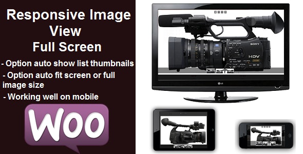 Responsive Image View Full Screen - CodeCanyon Item for Sale