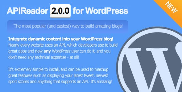 APIReader (and Parser Library) for WordPress