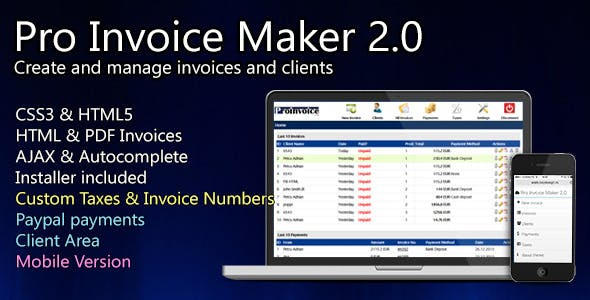 Pro Invoice Maker - Smart Invoicing System