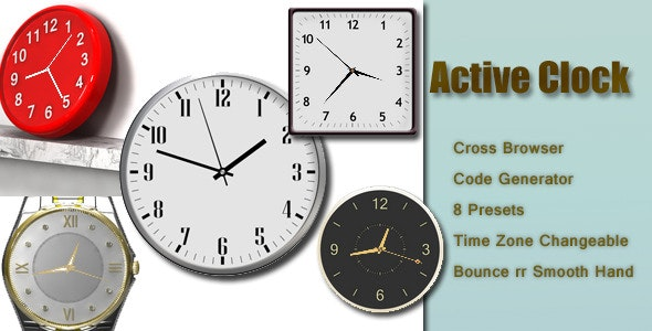 Active Clock - CodeCanyon Item for Sale