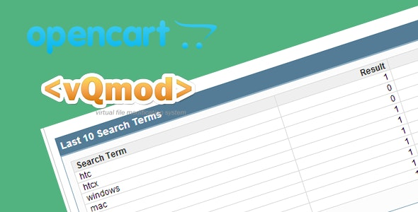 Save Search Items In Opencart - CodeCanyon Item for Sale
