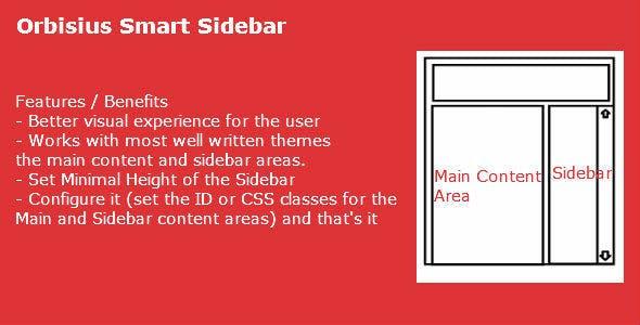 Orbisius Smart Sidebar