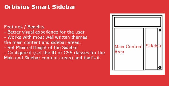 Orbisius Smart Sidebar - CodeCanyon Item for Sale