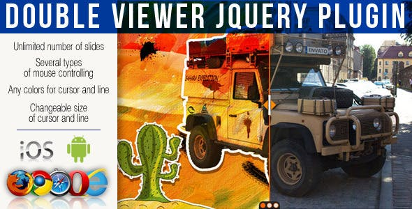 Double Viewer jQuery Plugin