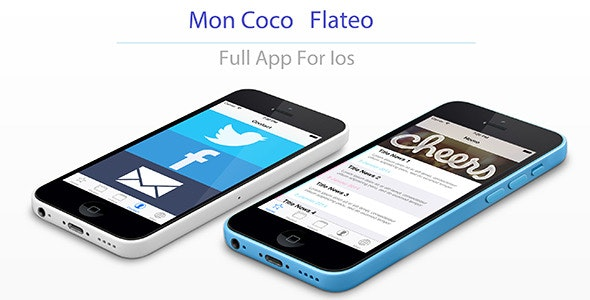 Moncoco-Flateo V2.1 - Full App for iOS 9 ! - CodeCanyon Item for Sale