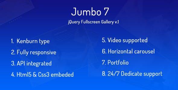 Jumbo 7 - Image Fullscreen Gallery