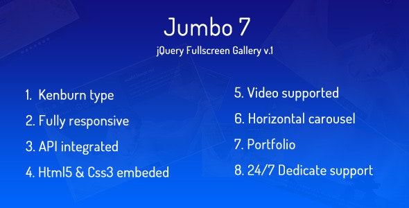 Jumbo 7 - Image Fullscreen Gallery - CodeCanyon Item for Sale