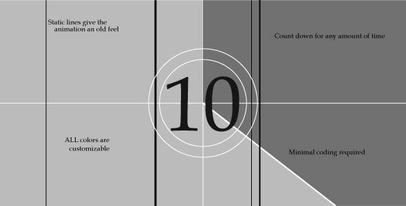 oldTimeCountdown jQuery Plugin