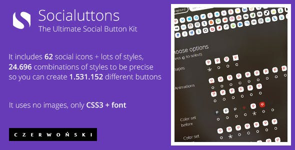 Socialuttons - The Ultimate Social Button Kit