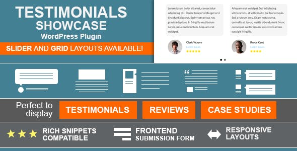 Testimonials Showcase - WordPress Plugin        Nulled