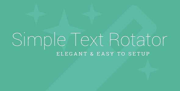 Simple Text Rotator WordPress Plugin - CodeCanyon Item for Sale