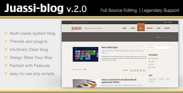 Juassi-Blog v.2.0