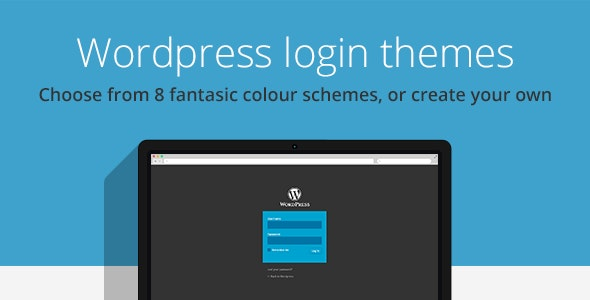 Wordpress login themes - CodeCanyon Item for Sale