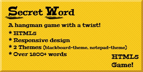 Secret Word (a hangman game)