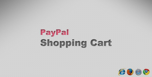 PayPal Shopping Cart - CodeCanyon Item for Sale