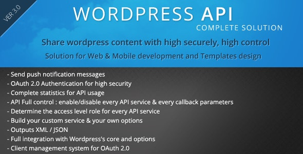 SMIO Wordpress API Complete Solution by smartiolabs | CodeCanyon