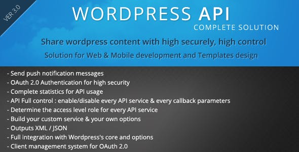 SMIO Wordpress API Complete Solution