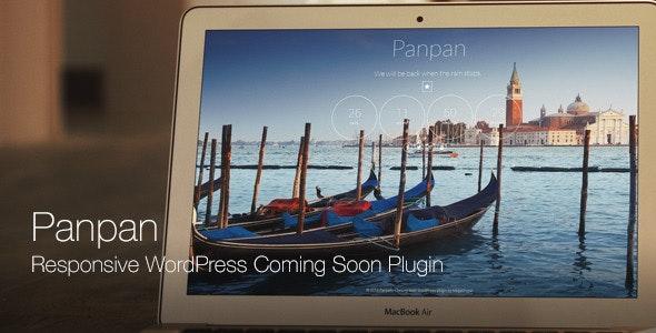 Panpan - Responsive WordPress Coming Soon Plugin - CodeCanyon Item for Sale
