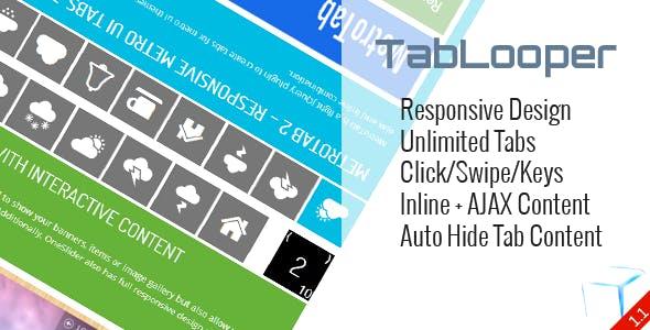 TabLooper - Responsive Loop Tab Metro UI