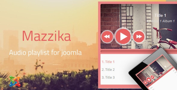 Mazzika | Music player-playlist  Joomla - CodeCanyon Item for Sale