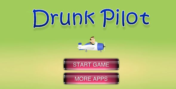 iOS Game : Drunk Pilot - Cocos2d