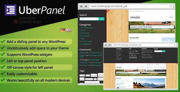 UberPanel - Sliding Panel Plugin for WordPress