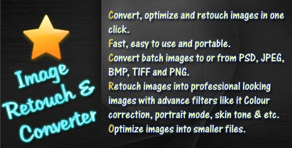 Image Retouch and Converter