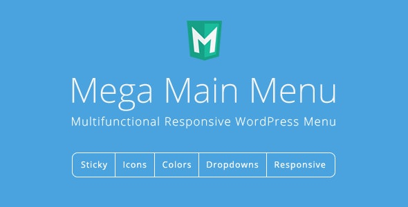 Wordpress Mega Menu Plugin by Megamain