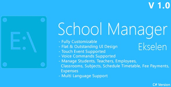 Ekselen - School Management System - CS Version