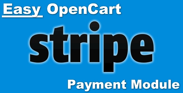 Easy Opencart Stripe Payment Module - CodeCanyon Item for Sale