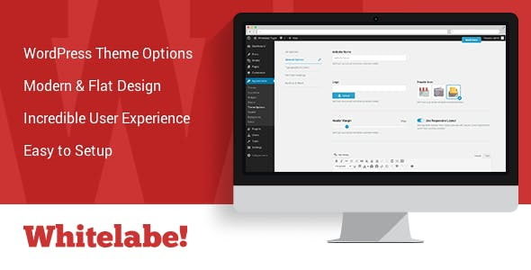 Whitelabel WordPress Theme & Plugin Options Panel
