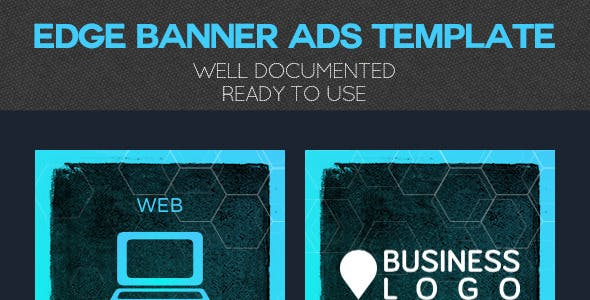 Edge Banner Ads Template