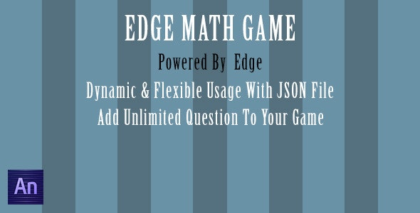 Edge Math Game - CodeCanyon Item for Sale